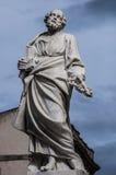 Скульптура St Peter Стоковое Изображение RF