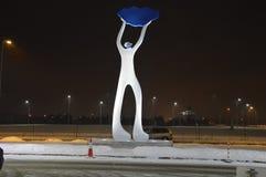 Скульптура Suomis в Вильнюсе стоковые фото