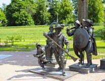 Скульптура A. Taratynov картиной Рембрандта Стоковые Изображения RF