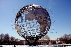 Скульптура Unisphere Стоковое фото RF