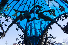 Скульптурный памятник Стоковые Изображения RF