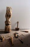 Скульптурный инструмент стоковые фотографии rf