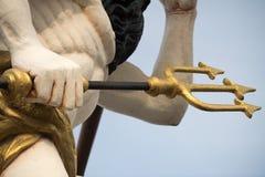 Скульптуры и украшение на сосуде пирата Стоковые Фото