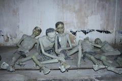 Скульптуры на тюрьме острова Dao жулика Стоковое Фото