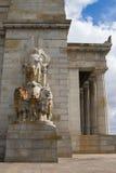 Скульптуры подстенка на святыне памяти, в Мельбурне v Стоковые Фото