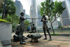 Скульптуры Сингапура Стоковые Фото