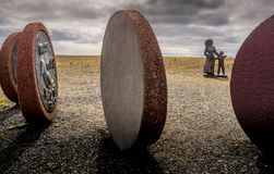 Скульптуры Nordkapp Стоковое Изображение RF