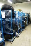 Склад запасных частей для автомобилей Стоковая Фотография