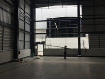 Склад коммерчески здание для хранения товаров Стоковое фото RF
