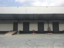 Склад коммерчески здание для хранения товаров стоковое изображение rf