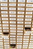 Склад резисторов Стоковая Фотография RF