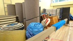 Складское помещение оборудования гимнастики Стоковое Изображение RF