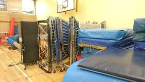 Складское помещение 2 оборудования гимнастики Стоковое Изображение