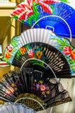 Складывая вентиляторы руки Стоковые Фото