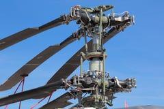 Складывая коаксиальные лезвия вертолета Стоковые Фото