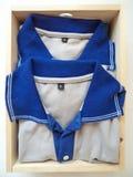 Складывая одежды в моем шкафе Стоковые Изображения RF