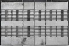 Складывая строб металла стоковое изображение