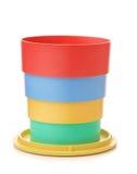 Складывая чашка Стоковое Изображение
