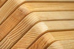 Склеенная деревянная предпосылка текстуры Стоковые Изображения