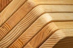 Склеенная деревянная предпосылка текстуры Стоковое Изображение