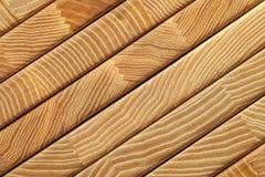 Склеенная деревянная предпосылка текстуры Стоковые Фотографии RF