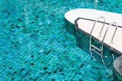 скложите заплывание вместе лестницы Стоковые Фотографии RF