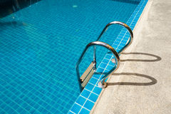 скложите заплывание вместе лестницы Стоковое Изображение RF