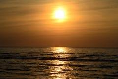 Склонение на море Стоковая Фотография RF