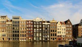 Склонность дома Амстердама Стоковое фото RF