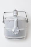 Склянка армии алюминиевая с баком Стоковая Фотография