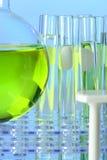 Склянка и пробирки Стоковая Фотография RF