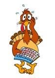 Слабонервное благодарение Турция Стоковые Изображения RF