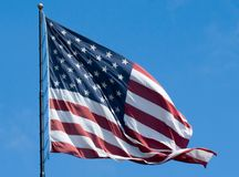 слава старые США флага Стоковые Изображения RF