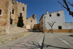 Славная деревня Altafulla стоковые изображения rf