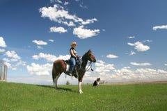 славная езда Стоковая Фотография