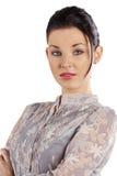 славная женщина портрета Стоковое Изображение RF