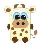 Славная квадратная корова.   Стоковая Фотография RF