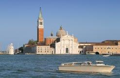 Славная, солнечная Венеция Стоковое Фото
