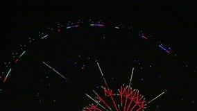 Славное кино взгляда ночи колеса Ferris акции видеоматериалы