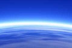 славное небо Стоковые Изображения