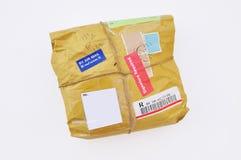 Славно упакованная парцелла Стоковые Фотографии RF
