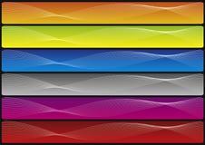 славные волны комплекта Стоковое Изображение RF