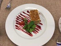 Славные и вкусные торты Стоковые Изображения