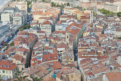 славные улицы крыш Стоковое Изображение