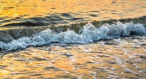 Славный брызгая прибой моря Стоковое Изображение