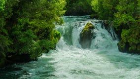 Славный водопад в Новой Зеландии стоковые изображения