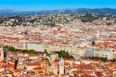 Славный воздушный панорамный вид, Франция стоковая фотография