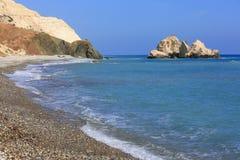 Славный ландшафт берега моря Стоковые Изображения