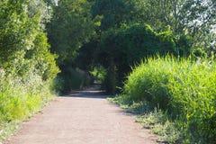 Славный путь в озере Ivars и Vila Sana, Лериды стоковая фотография