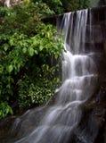 Славный тропический тропический лес с славным водопадом стоковые фотографии rf